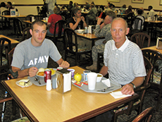 Wounded Warrior and Mentor